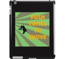 Push Comes To Shove - Retro iPad Case/Skin