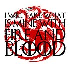 Game of Thrones - Fire and Blood by ffiorentini