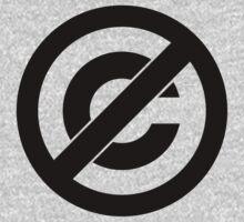 Public Domain Symbol, Copyleft by FreshThreadShop