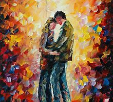 AT PARTING by Leonid  Afremov