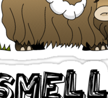 You smell like Bantha poo Sticker