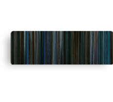 Moviebarcode: Watchmen (2009) Canvas Print