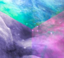 Orion Nebula Cube Sticker
