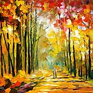 AFTERNOON SUN by Leonid  Afremov