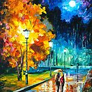 ROMANTIC NIGHT by Leonid  Afremov