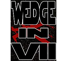 Wedge in VII - 2-1 Photographic Print