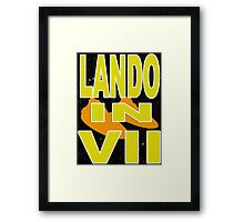 Lando in VII - 1-4 Framed Print