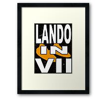Lando in VII - 1-5 Framed Print