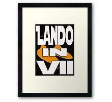Lando in VII - 2-5 Framed Print
