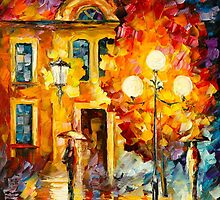 BELATED MEETING by Leonid  Afremov