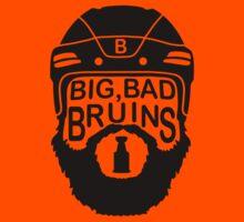 Big Bad Bruins Beard Kids Clothes