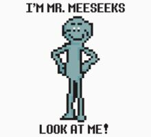 8 bit Mr. MeeSeeks T-Shirt