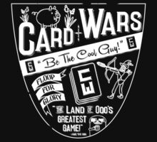 Cards Wars - Floop for Glory! (Adventure Time) (White) by PixelStampede