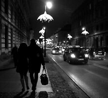 Evening Stroll by tipl