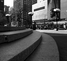 Union Square - Steps by Amanda Vontobel Photography