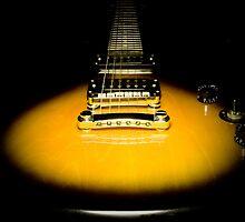 guitar yellow by yoleaga24