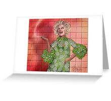 Ha!: Portrait of Phyllis Diller Greeting Card