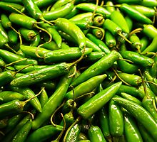 Serrano Peppers by Robert Meyers-Lussier
