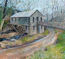 Historic Cohutta Springs Mill by Deborah Pritchett