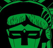 Voltron Liberty (green) Sticker