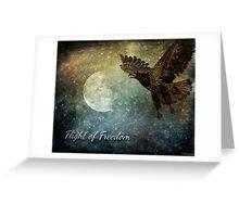 Flight Of Freedom - Image Art Greeting Card
