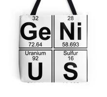 Ge-Ni-U-S (genius) Tote Bag