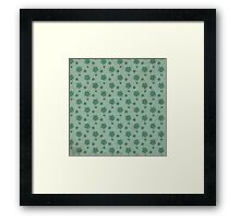 Patterns in the Ice Framed Print