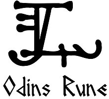 Viking Odins Rune by Asatru