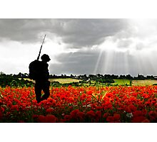 Lost Soldier Photographic Print