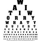 Swanson Eye Examination by firetable