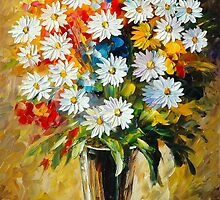 SUMMER BOUQUET by Leonid  Afremov