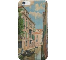 Venice Italy Vintage Art iPhone Case/Skin