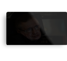 Stephen Hawking text Metal Print