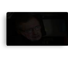 Stephen Hawking text Canvas Print