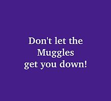 Don't let the Muggles get you down! by AlanaDZ