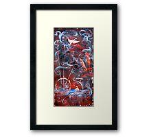 Swan Offering Framed Print
