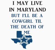 DIE HARD MARYLAND COWGIRL  by VividAudacity