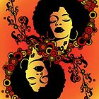 Afro Queen by TheArtPanda