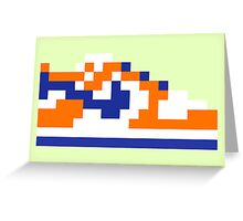 8-bit Kicks (Supa) Greeting Card