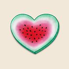 Summer Love - Watermelon Heart by Perrin Le Feuvre
