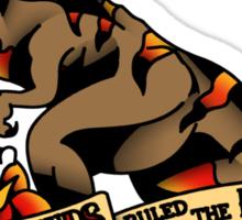 Jurassic Park T-Rex Tattoo Flash Sticker