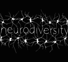 Neuron Diversity - White and Black by amythests