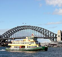 Sydney Harbour Ferry  by jasonkryger