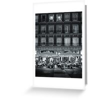 Madrid Life Greeting Card