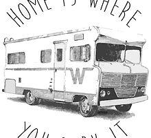 Home Is Where  by Amanda Hallock