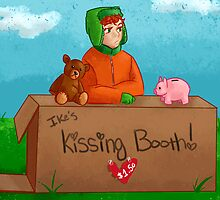Ike's Kissing booth! by tigersmt334