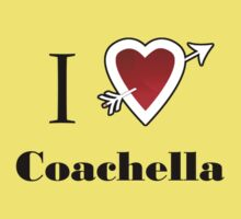 i love Coachella  heart by Tia Knight