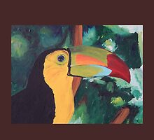 Colorful Toucan - iPhone iPod iPad by PhoneCase