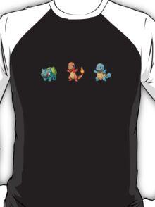 Kanto Starters T-Shirt
