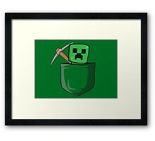 Pocket Creep Framed Print